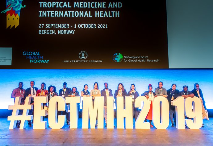 RSTMH team and delegates at ECTMIH 2019 in Liverpool.